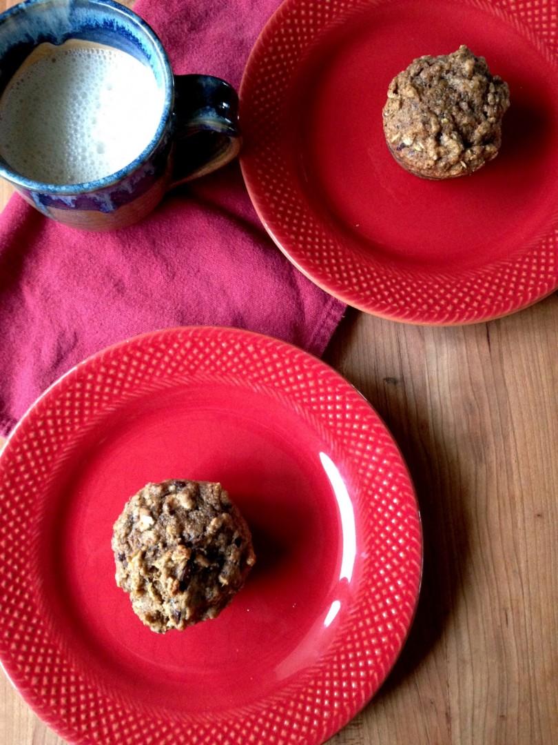 Spelt Pear Muffins