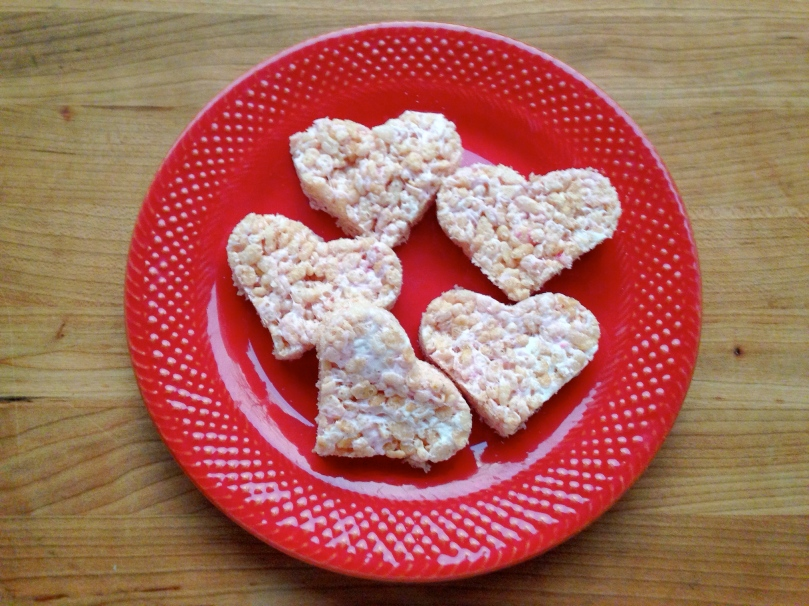 Heart Rice Crispies