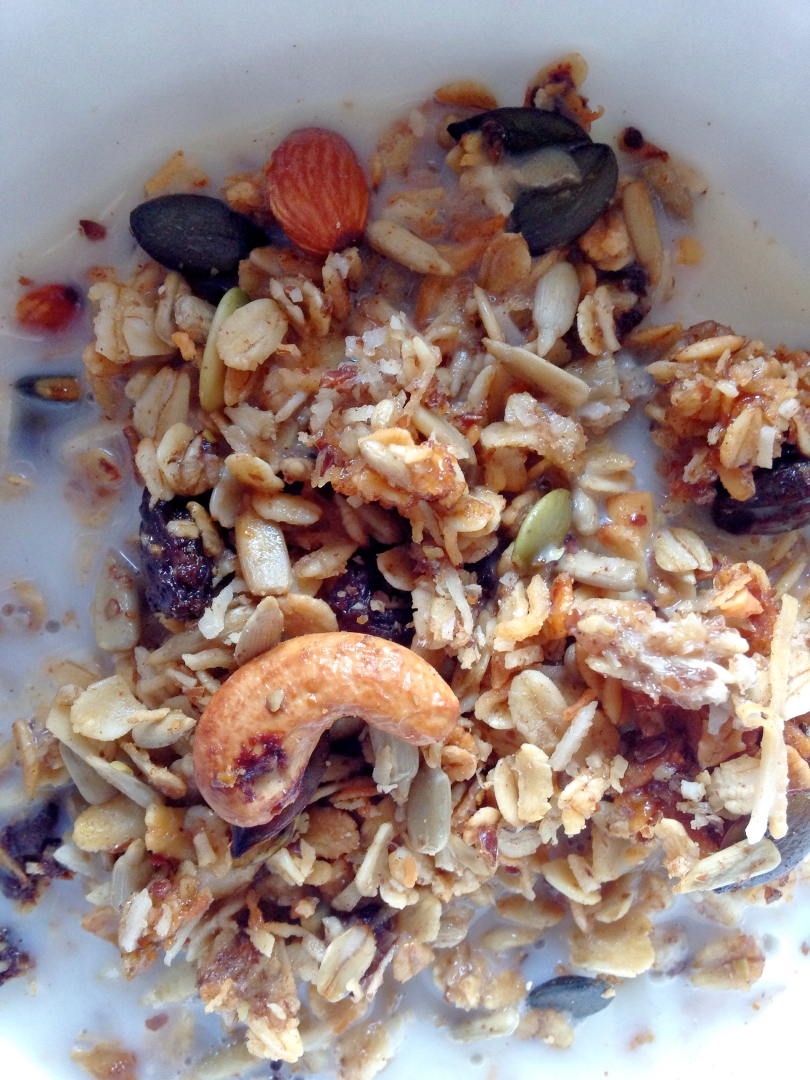 Easy Trail Mix Granola
