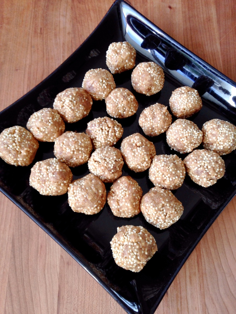 Peanut Butter Balls with Milet