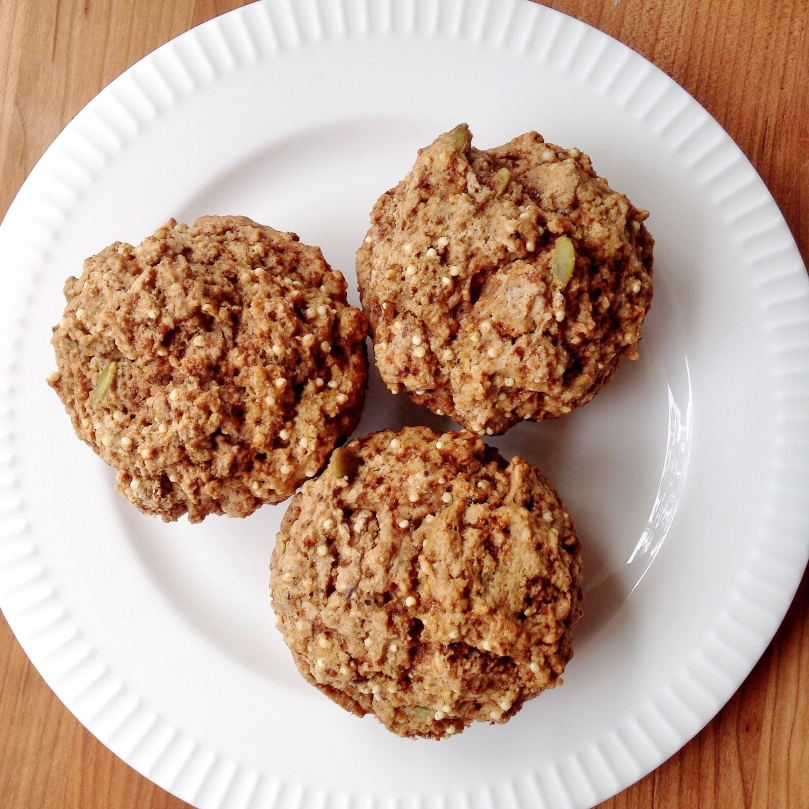 Millet Muffins with Pumpkin Seeds