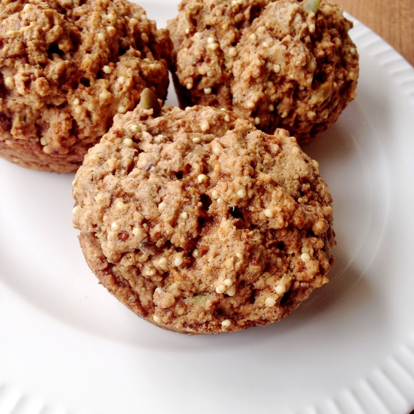 Millet Muffin with Pumpkin Seeds