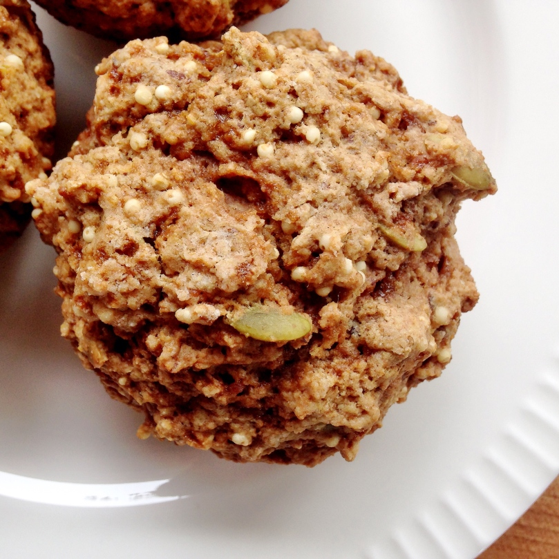 Millet Muffins with Pumpkin Seeds