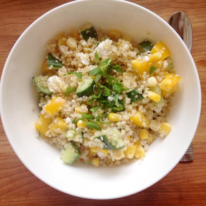 Springtime Quinoa Salad