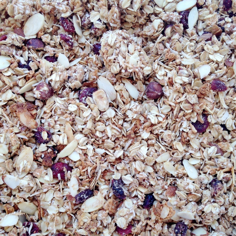 Granberry and Almond Granola