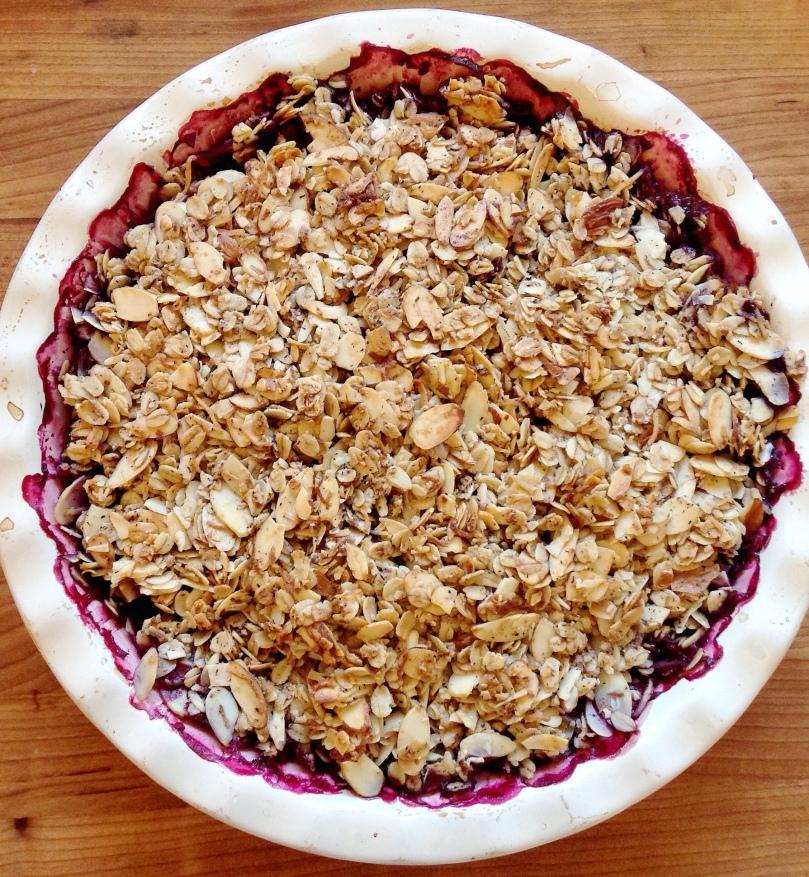Strawberry-Blueberry Crisp